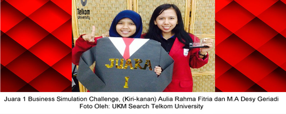 Tel-U Raih Juara 1 Lomba Simulasi Bisnis The 2nd IPB Business Festival 2014